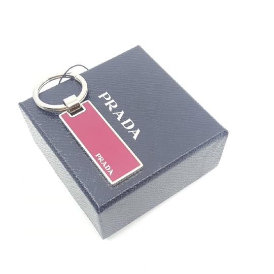 Prada Prada Portachiavi in Metallo Peonia Red Enameled Keychain Charm 2PS021 Image 4