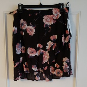 cotton candy LA Mini Skirt Black