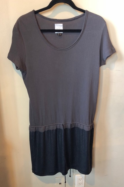 Nicole Miller short dress Taupe and Black Cotton Sequins on Tradesy Image 2