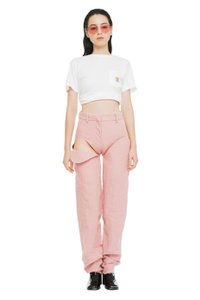 Y/Project Cut-out Gucci Chanel Trouser/Wide Leg Jeans