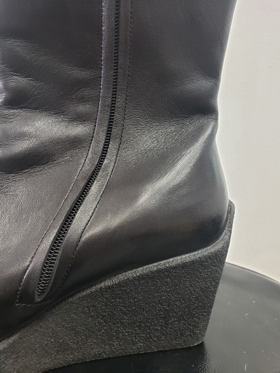 Robert Clergerie #boot #softblackleather #boot/Booties #wedgeboots black Boots Image 6