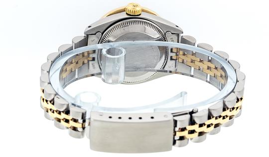Rolex Ladies Datejust Ss/Yellow Gold with MOP Diamond Dial Watch Image 3
