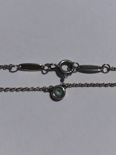 Tiffany & Co. Tiffany and CO. Sterling Elsa Peretti Color by the yard Blue topaz nec Image 1