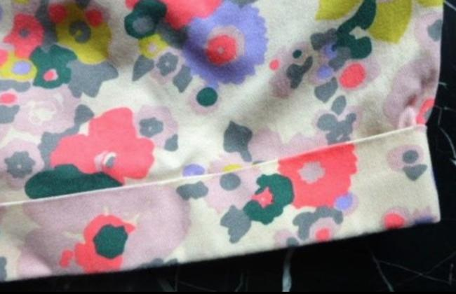 Boden Floral Turn-up Pockets Belt Loops Jonnie Mini/Short Shorts Multicolored Image 1