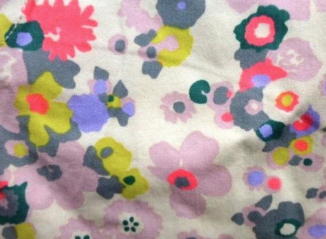 Boden Floral Turn-up Pockets Belt Loops Jonnie Mini/Short Shorts Multicolored Image 2