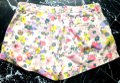 Boden Floral Turn-up Pockets Belt Loops Jonnie Mini/Short Shorts Multicolored Image 3
