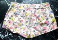 Boden Floral Turn-up Pockets Belt Loops Jonnie Mini/Short Shorts Multicolored Image 4