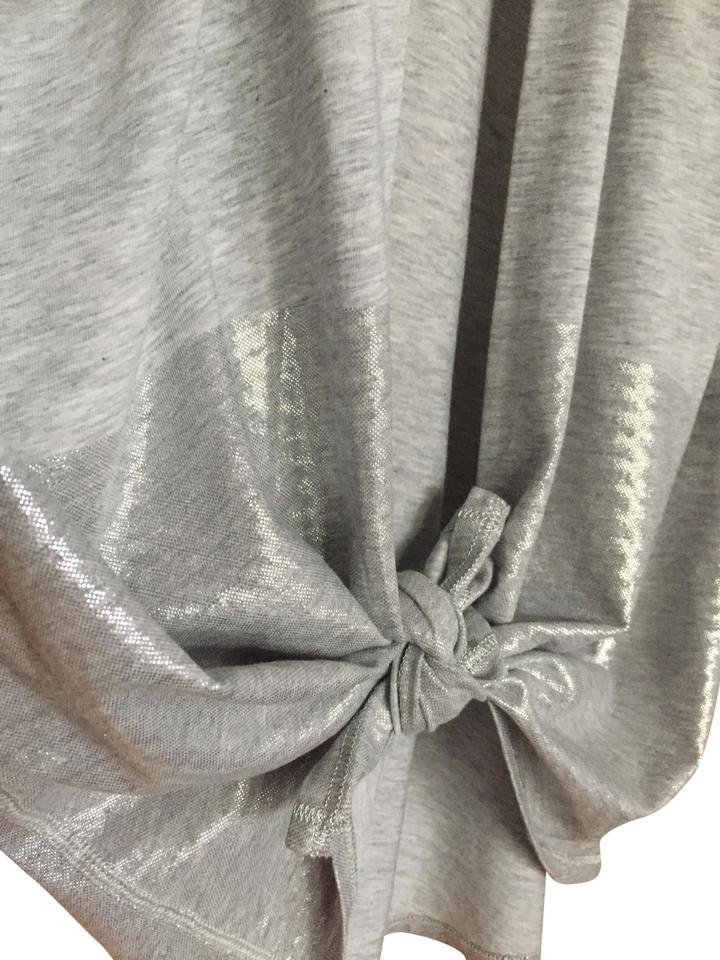 318d9fcdca Lululemon Gray All Tied In Tencel Activewear Top Size 8 (M) - Tradesy