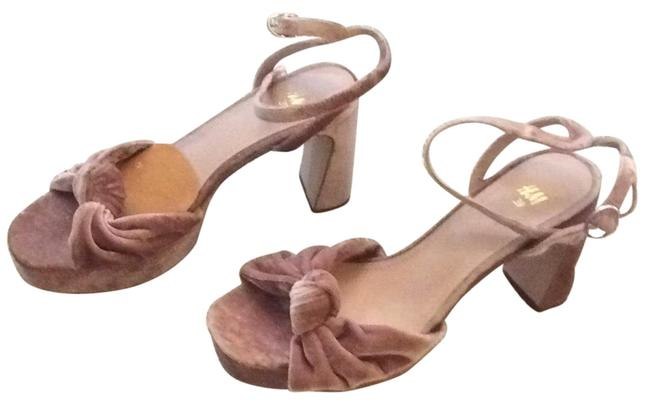 Item - Mauve Velvet Platforms Size EU 39 (Approx. US 9) Regular (M, B)