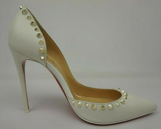 Christian Louboutin White Pumps Image 2