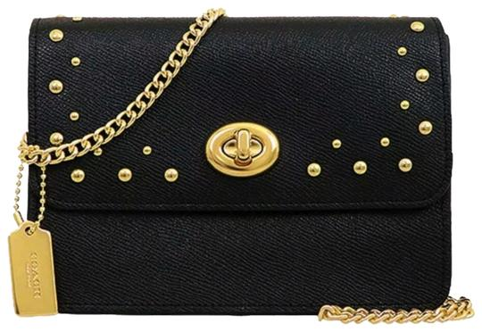 Preload https://img-static.tradesy.com/item/25111414/coach-bowery-studs-gold-chain-black-luxury-leather-cross-body-bag-0-2-540-540.jpg