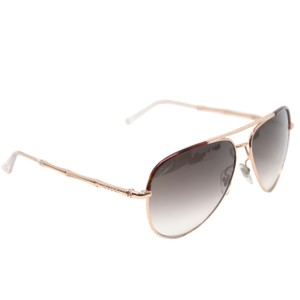 7d12ee2c0ca Gucci Gold-tone Metal and Bamboo Shaped Temples Aviator Sunglasses GG1276S