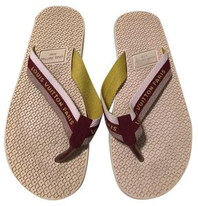 65924da14427a0 Louis Vuitton Flip Flops - Up to 70% off at Tradesy