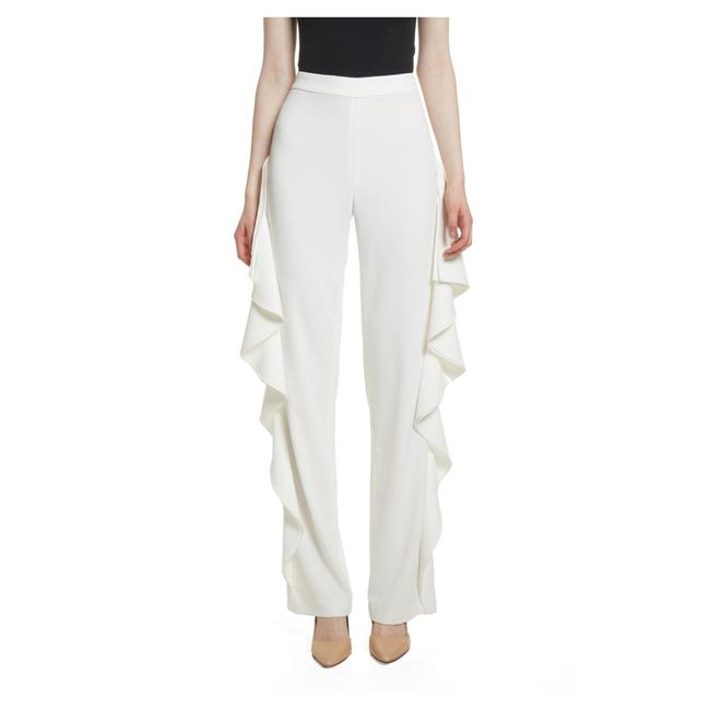 Preload https://img-static.tradesy.com/item/25112020/alice-olivia-off-white-estell-ruffle-pants-size-4-s-27-0-0-650-650.jpg