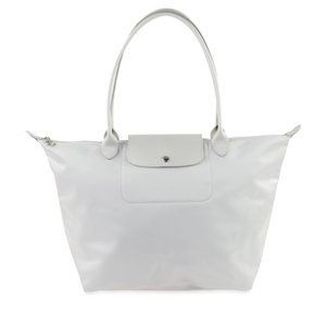 Longchamp Tote in Silver