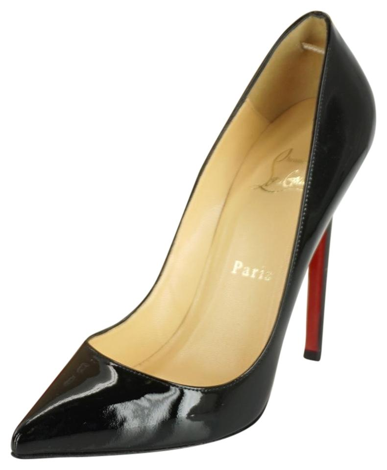 4625cd959ef Christian Louboutin Black Patent Pigalle Follies Pointed Toe Classic Pumps  Size EU 36.5 (Approx. US 6.5) Regular (M, B) 33% off retail