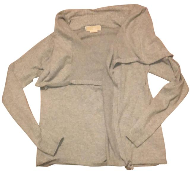 Item - Gray Open Front Cardigan Tunic Size 2 (XS)