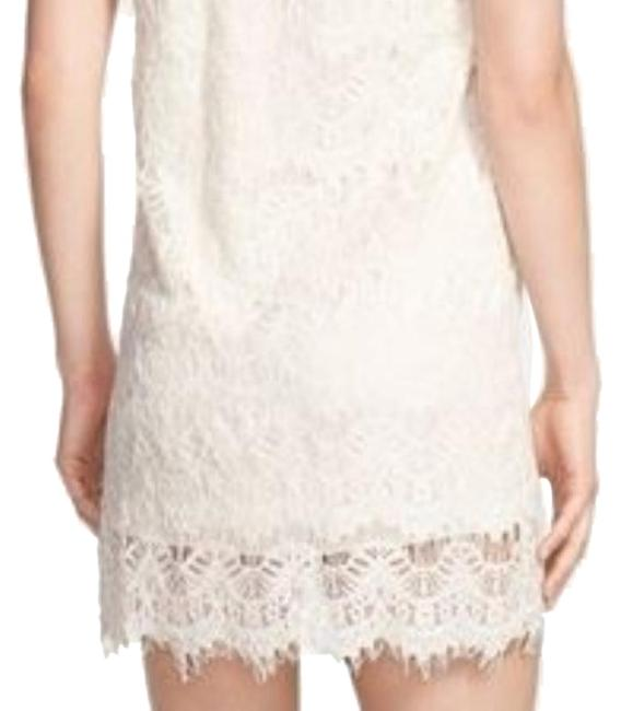 Everleigh Cream Lace From Nordstrom Short Night Out Dress Size 4 (S) Everleigh Cream Lace From Nordstrom Short Night Out Dress Size 4 (S) Image 1