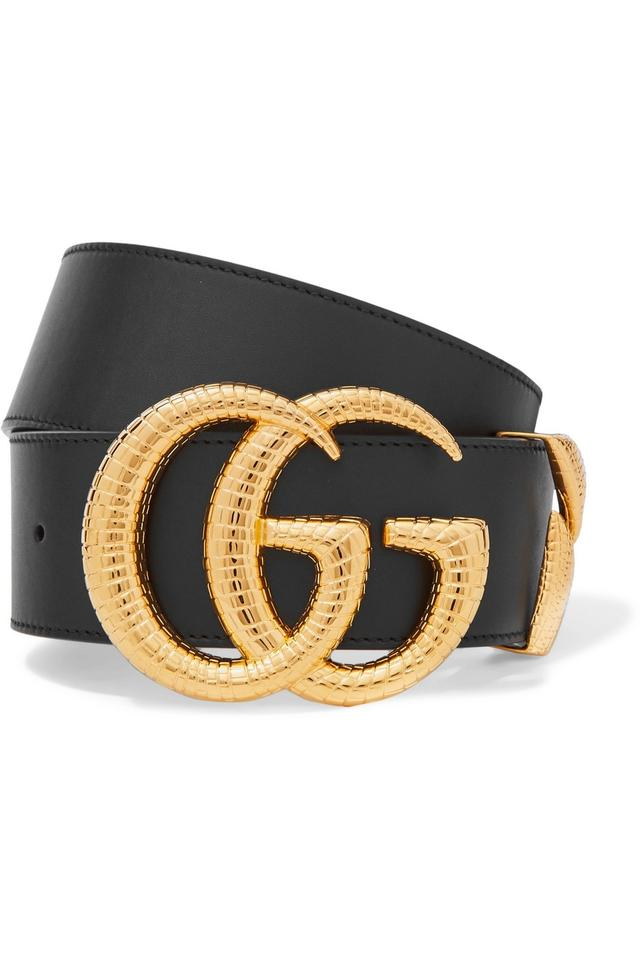 8173e006121 Gucci Brand New - Gucci Leather Belt with Double G Buckle Size 85 Image 0  ...