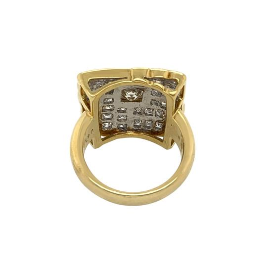Other 18k Yellow Gold 2.71ct Diamond Ring Image 3