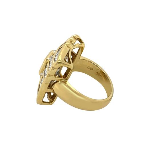 Other 18k Yellow Gold 2.71ct Diamond Ring Image 4