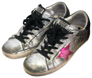 Golden Goose Deluxe Brand Black, Pink, Silver Athletic