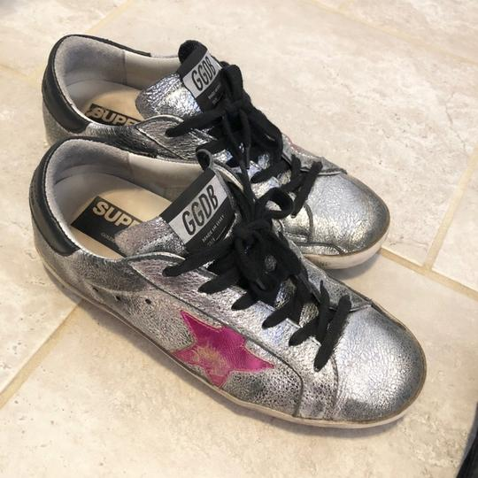 Golden Goose Deluxe Brand Black, Pink, Silver Athletic Image 3