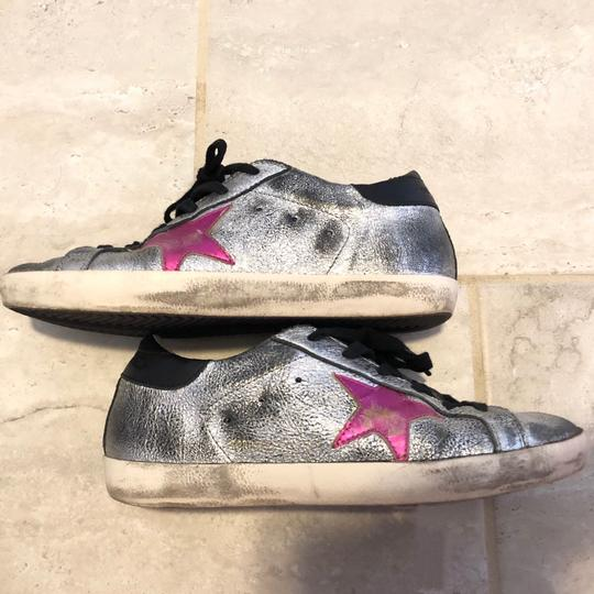 Golden Goose Deluxe Brand Black, Pink, Silver Athletic Image 4