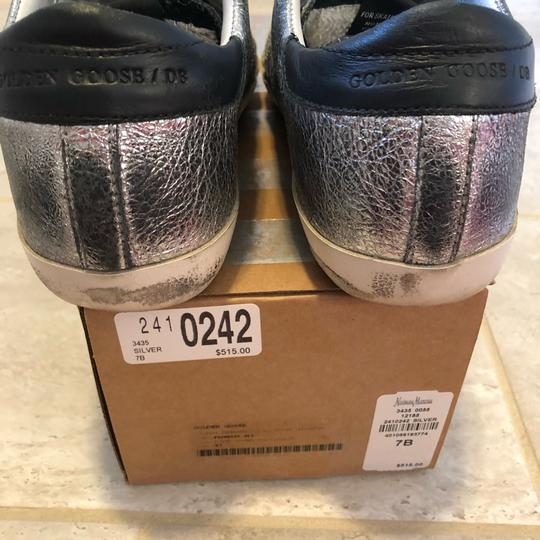 Golden Goose Deluxe Brand Black, Pink, Silver Athletic Image 6