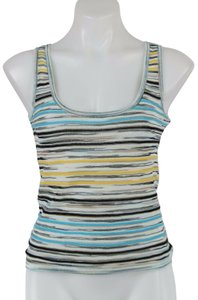 Missoni Top Blue, Black And Yellow