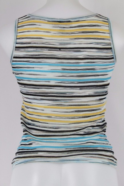 Missoni Top Blue, Black And Yellow Image 1