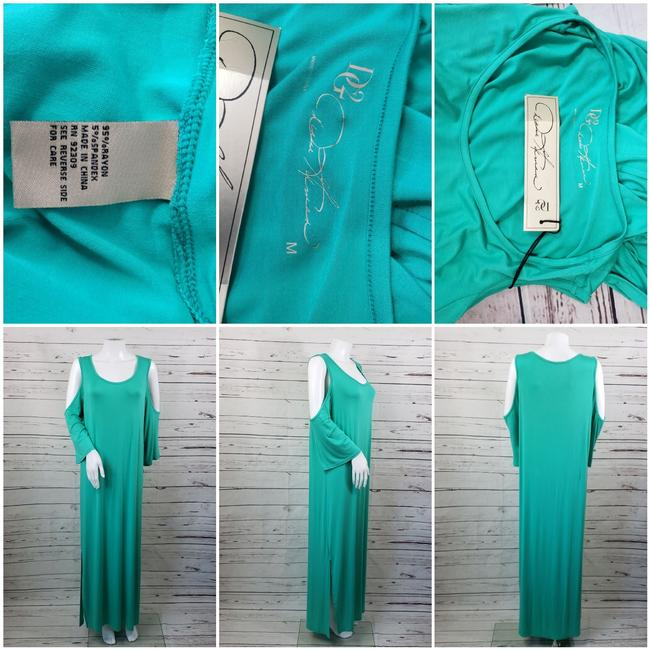 Teal Maxi Dress by DG2 by Diane Gilman Image 7