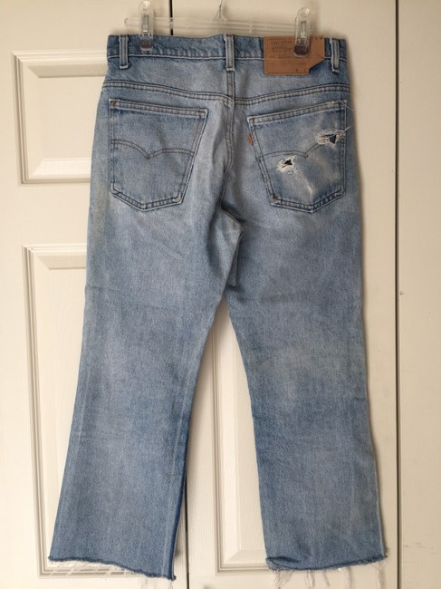 Levi's Blue Distressed Vintage Relaxed Fit Jeans Size 12 (L, 32, 33) Levi's Blue Distressed Vintage Relaxed Fit Jeans Size 12 (L, 32, 33) Image 6