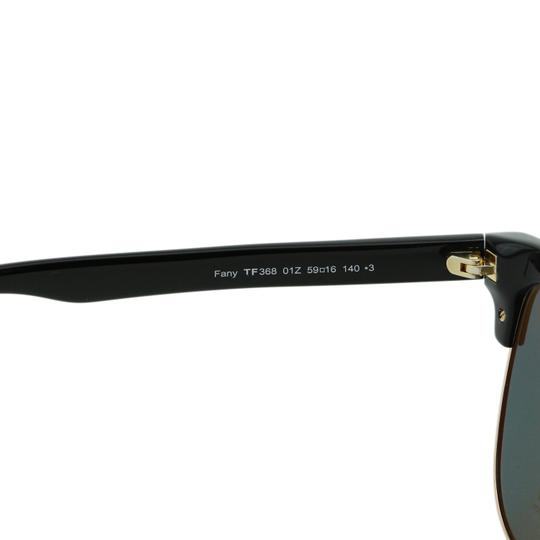 Tom Ford New TF Fany FT0368 01Z Women Cat-Eye Mirrored Sunglasses 59mm Image 6