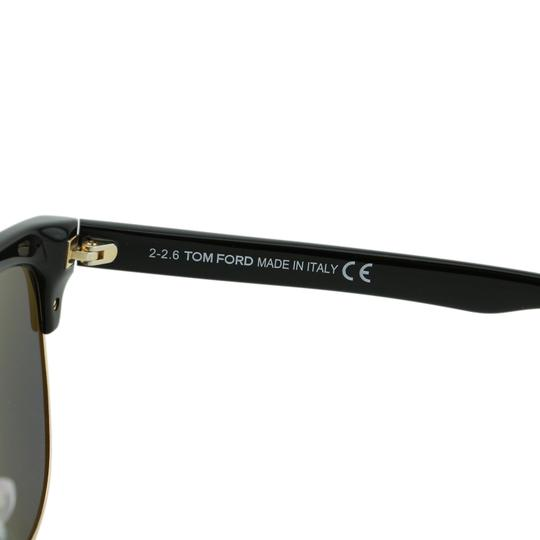 Tom Ford New TF Fany FT0368 01Z Women Cat-Eye Mirrored Sunglasses 59mm Image 7