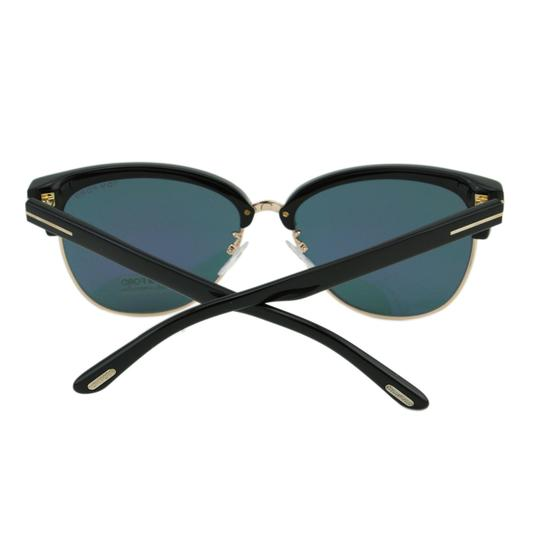Tom Ford New TF Fany FT0368 01Z Women Cat-Eye Mirrored Sunglasses 59mm Image 8