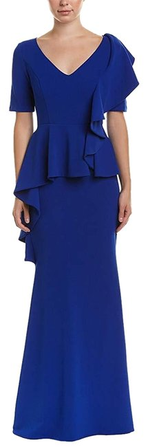 Preload https://img-static.tradesy.com/item/25114670/badgley-mischka-cobalt-womens-elbow-sleeves-full-length-evening-long-formal-dress-size-0-xs-0-1-650-650.jpg