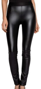 Emerson Fry Edgy Chic Sporty Night Out Date Night Black Leggings