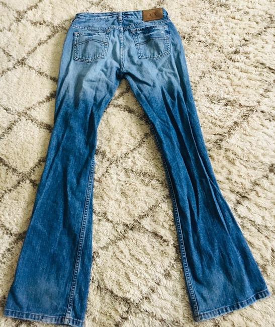 A|X Armani Exchange Boot Cut Jeans-Distressed Image 6