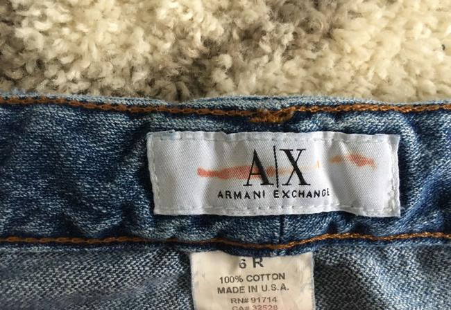 A|X Armani Exchange Boot Cut Jeans-Distressed Image 7