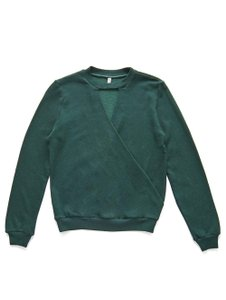 Lanston Sporty Edgy Chic Night Out Casual Sweater
