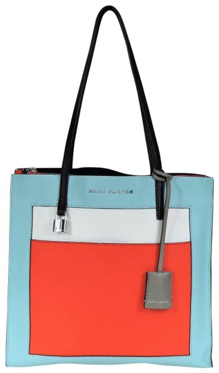 Preload https://img-static.tradesy.com/item/25114973/marc-jacobs-the-grind-color-block-baby-blue-multi-pebbled-textured-leather-tote-0-1-540-540.jpg