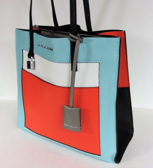 Marc Jacobs Tote in Baby Blue Multi Image 2
