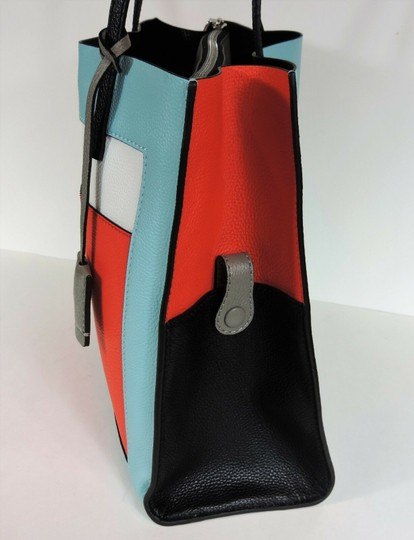 Marc Jacobs Tote in Baby Blue Multi Image 3
