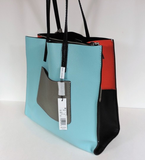 Marc Jacobs Tote in Baby Blue Multi Image 4