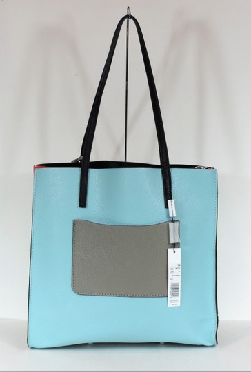 Marc Jacobs Tote in Baby Blue Multi Image 5