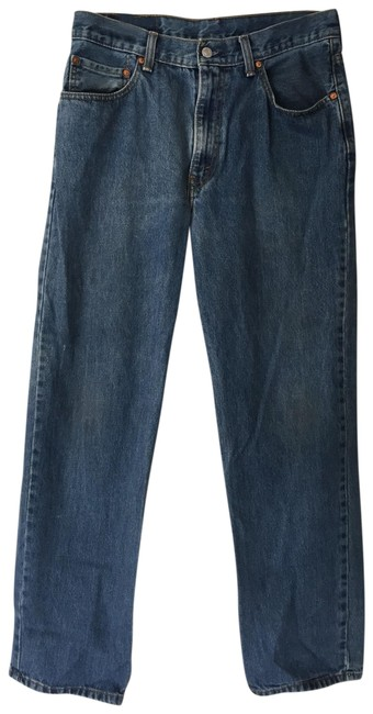 Item - Blue Distressed Vintage 505 Relaxed Fit Jeans Size 12 (L, 32, 33)