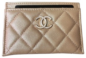 Chanel Chanel Classic Iridescent Flat Card Holder