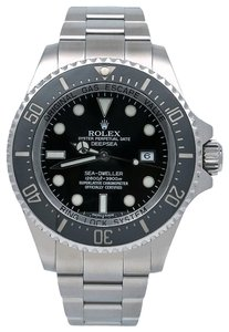 Rolex Rolex Sea-Dweller Deepsea 116660 44MM Black Dial With Stainless Steel