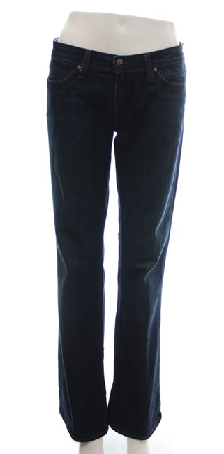 Item - Dark Blue Medium Wash Denim Straight Leg Jeans Size 29 (6, M)